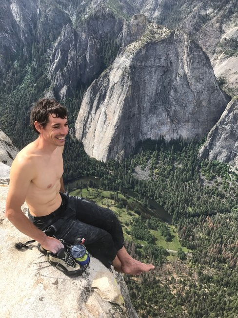 Interview With Alex Honnold, Climber Who Scaled El Capitan Without a Rope