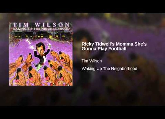 Ricky Tidwell's Momma She's Gonna Play Football - YouTube
