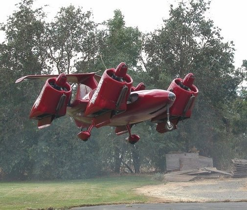 9 Really Strange And Unique Flying Cars