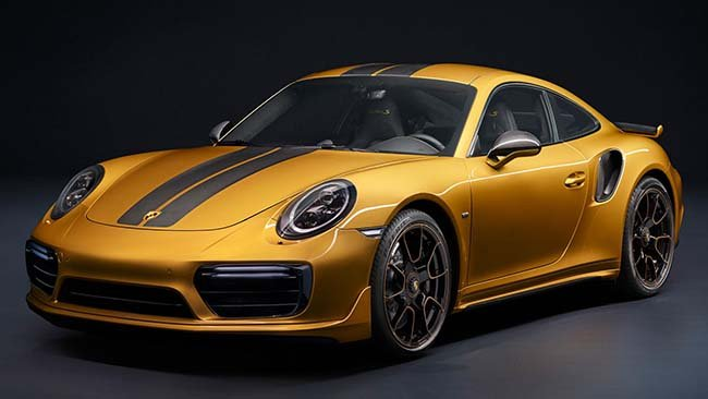 🔥 Porsche Unveiled Its Most Powerful 911 Turbo S Ever