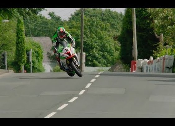 Rider Avoids a 150 MPH Crash