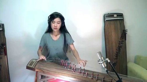 "Radiohead's ""Creep"" Played on the Gayageum, a Korean Instrument Dating Back to the 6th Century"