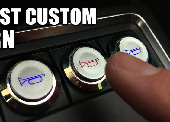 How to Make A Friendly Custom Car Horn  DIY