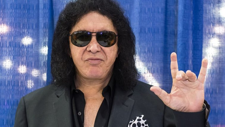 Gene Simmons is trying to trademark the devil horns hand gesture