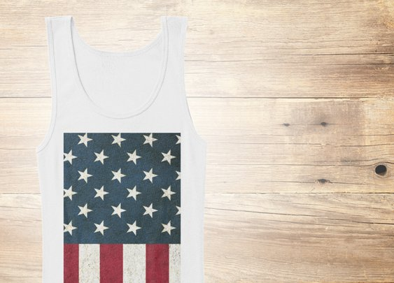 4th Of July American Flag Women's Tank Top from Sweat is Victory | Teespring