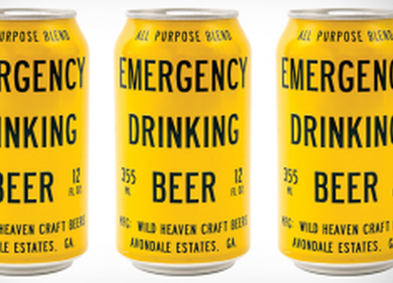 The Emergency Drinking Beer Is The Ale For When It All Hits The Fan | InStash