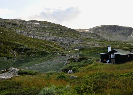 Summertime Cabin in Finies, Norway