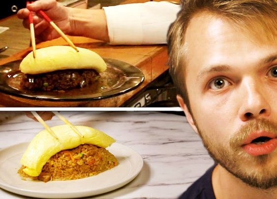 Man Tries To Make The Most Difficult Omelet In the World