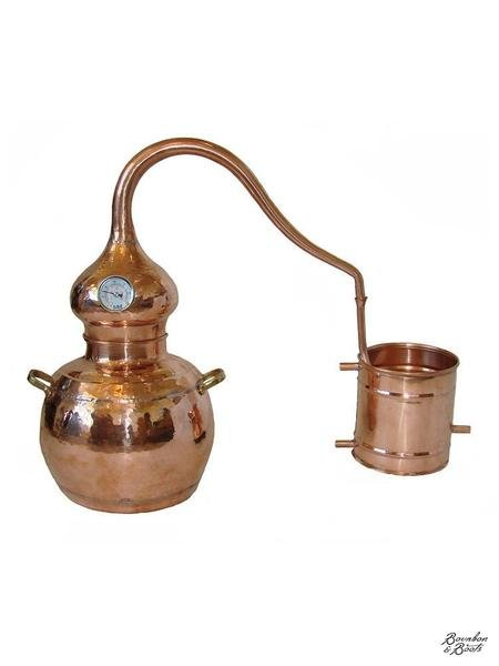 Handmade Copper Whiskey Still Kit, 5 Liter