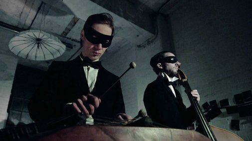 Orkestra Obsolete play Blue Monday using 1930's instruments