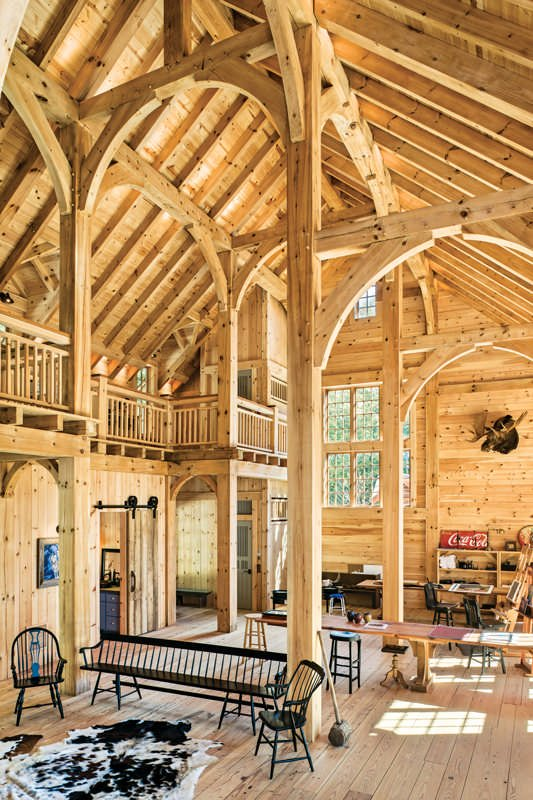 This Timber Frame Studio is a Work of Art