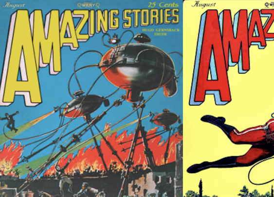 Enter a Huge Archive of Amazing Stories, the World's First Science Fiction Magazine