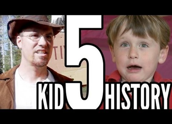 "Kid History: ""Camping"" Episode 5 (True Stories) - YouTube"