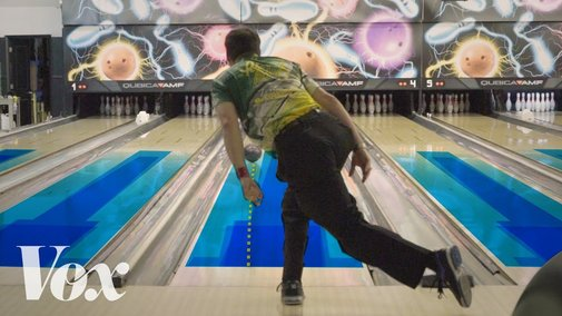 How the Hidden Oil Patterns On Bowling Lanes Help Bowlers Get a Higher Score