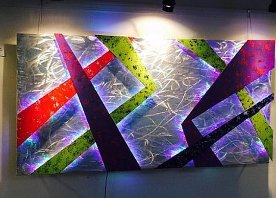 LED sculptures and LED wall art