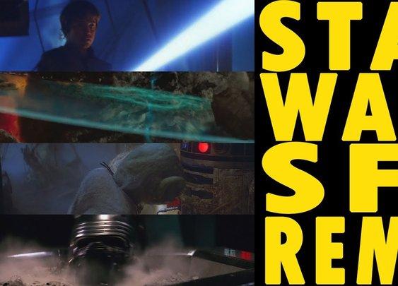 Star Wars Sound Effects Remix - YouTube