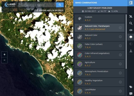 New LandViewer Tool for Quickly Finding and Analyzing Satellite Imagery