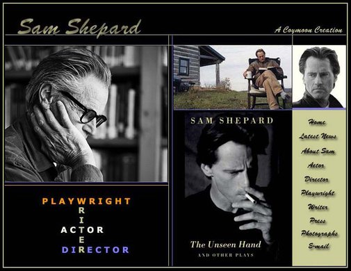 The Sam Shepard Web Site