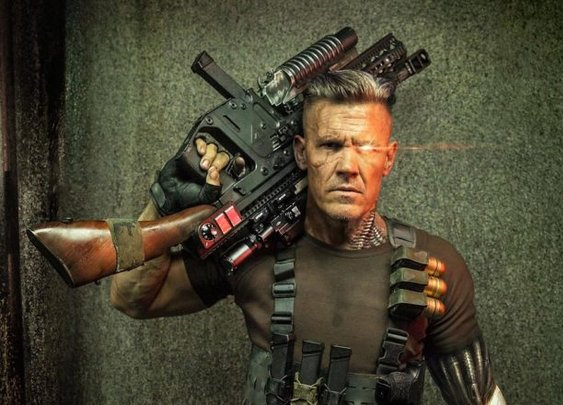 First Pic Of Josh Brolin As Cable In Deadpool 2