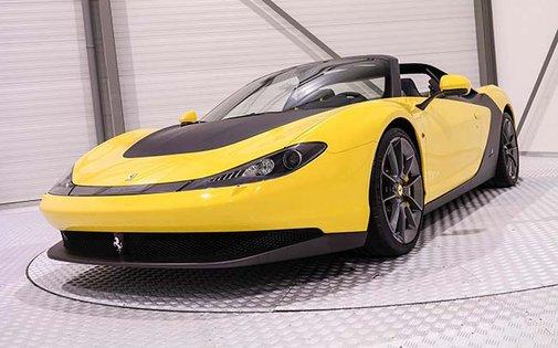 First Ferrari SERGIO to hit the market is valued on $5.1 Million