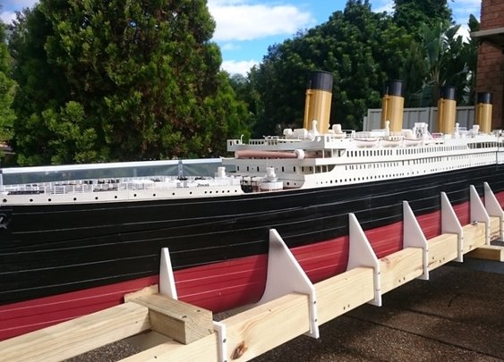 World's Largest 3D-Printed Scale Model of Titanic is Sold