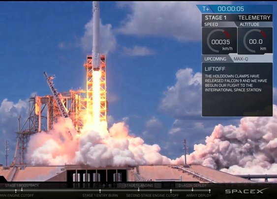 Space X Launch Webcast - YouTube