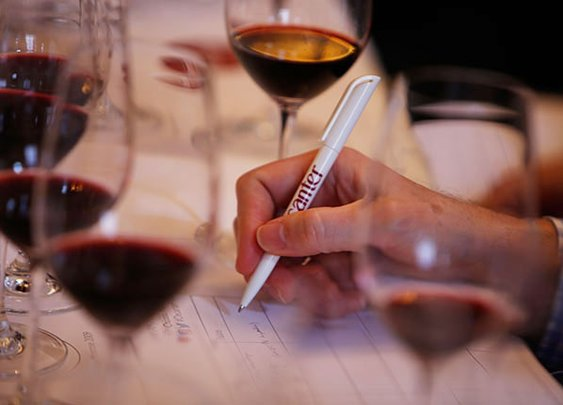 Wine could help solve writer's block.
