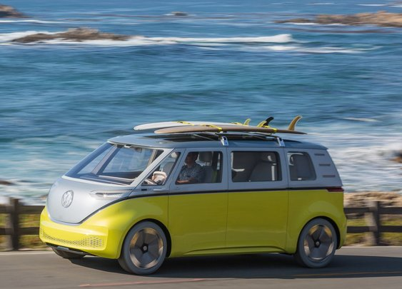 Volkswagen is putting an electric Microbus into production.