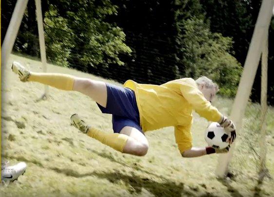 New extreme sport: Alpine Soccer