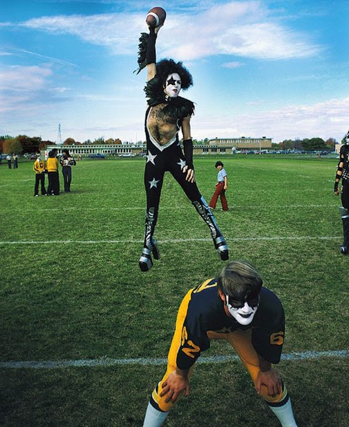 The Amazing Story and Photos of KISS Played at Cadillac High School's Homecoming in 1975 ~ vintage everyday