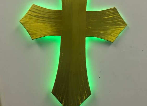 LED color changing Cross,led Cross,led crosses see more at www.USAChurchCross.com