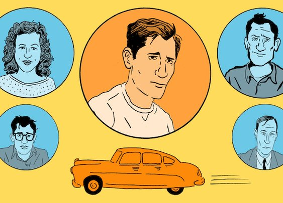 An Illustrated Guide to Jack Kerouac's On the Road, 60 Years Later
