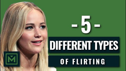 5 Common Flirting Types + What Each Type Means She Wants - How to Determine What Her Flirting Means - YouTube