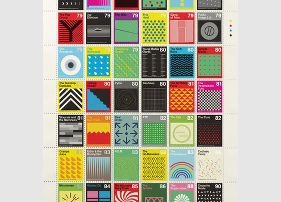 Post-Punk Stamps : Bleep