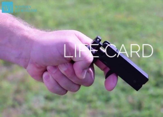 Life Card .22 Caliber Gun