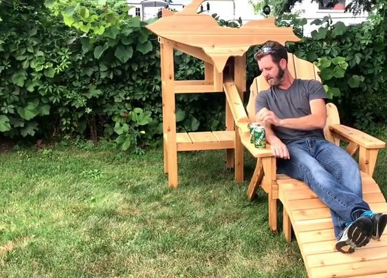 Michigan Beer Chair