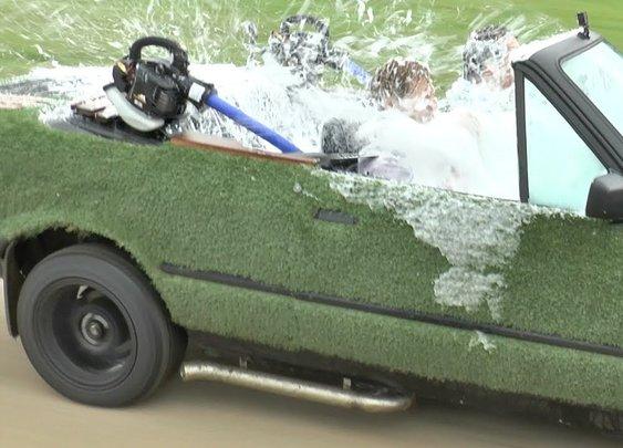 The Spa Car Drivable Hot Tub