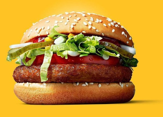McDonald's Trials the McVegan