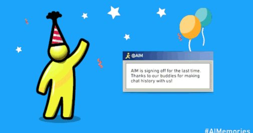 AIM will shut down after 20 years