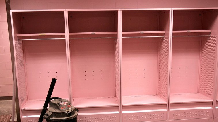 Visiting locker rooms in college football aren't nice for a reason