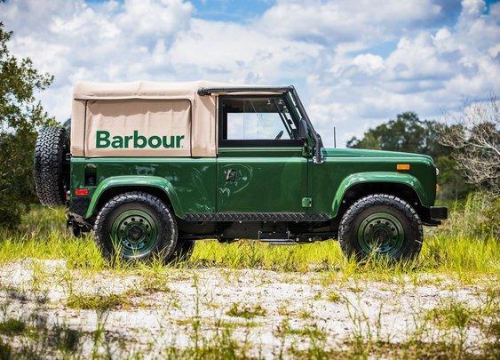 Project Barbour Land Rover Defender Giveaway