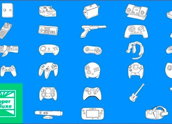 A Brief History Of Video Game Controllers [Super Deluxe]
