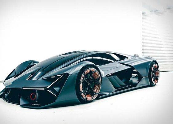 Lamborghini Terzo Millennio Supercar Concept Revealed