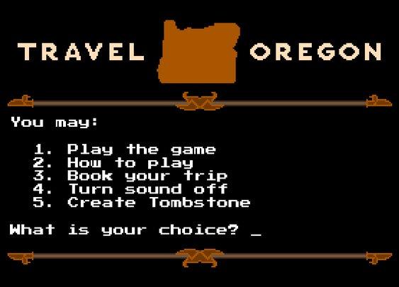 Travel Oregon remakes Oregon Trail
