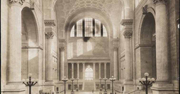 Old Penn Station: the history of New York's glorious train hall