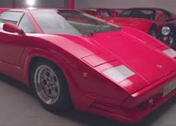 Lamborghini Countach 25th Anniversary Is Amazing [Driven]