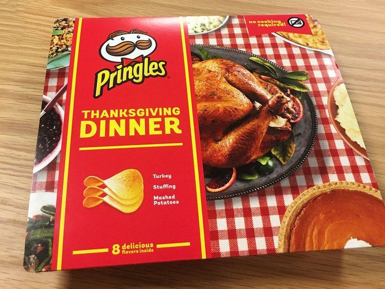 Pringles' Thanksgiving (Chip) Dinner