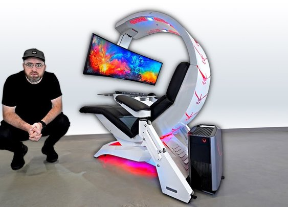 The Most Insane Workstation   Gaming Setup [Unbox Therapy]
