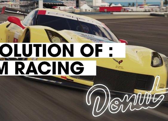 Evolution Of Sim Racing [Donut Media]