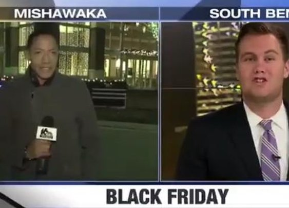 Local News Reporter Finds No Crowds To Report On At Mall On Black Friday, Is Not Pleased About It - Digg
